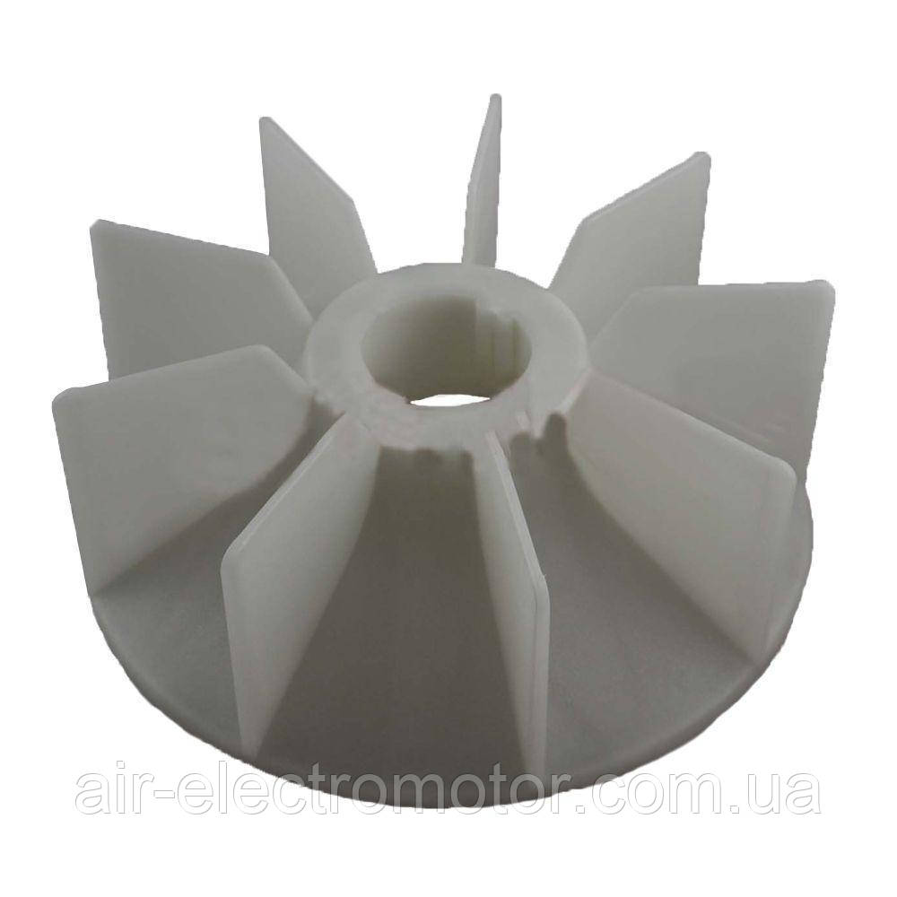 Крыльчатка (Вентилятор) -АИР- 90 (4,6,8) 26мм/125мм/180мм