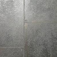 Обои виниловые на флизелине Marburg Loft 59334 металлик под плитку и штукатурку лофт