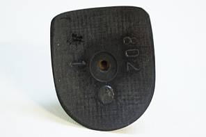 Каблук женский пластиковый 802 р.1-3  h-8,3-9,0 см., фото 3