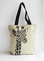 Сумка под вышивку бисером (нитками)  Жираф