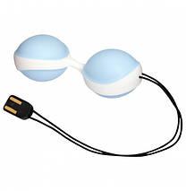 Вагинальные шарики — Vibratissimo Duo Ball, 3,6 см, фото 2