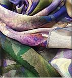 10508-15, павлопосадский платок шерстяной (разреженная шерсть) с швом зиг-заг, фото 4
