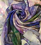 10508-15, павлопосадский платок шерстяной (разреженная шерсть) с швом зиг-заг, фото 6