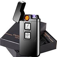 Электроимпульсная подарочная USB зажигалка ZU 33172