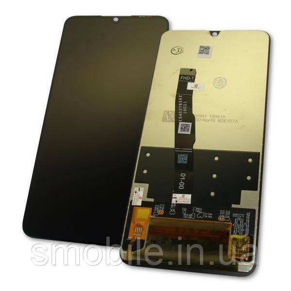 Huawei Дисплей Huawei P30 Lite / Nova 4e + сенсор черный (оригинальные комплектующие)