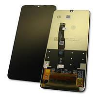Huawei Дисплей Huawei P30 Lite / Nova 4e + сенсор черный (оригинальные комплектующие), фото 1