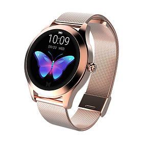 Женский Фитнес-браслет Mavens fit KW10 Plus gold, смарт-часы