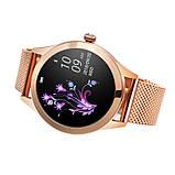 Женский Фитнес-браслет Mavens fit KW10 Plus gold, смарт-часы, фото 4