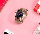 Женский Фитнес-браслет Mavens fit KW10 Plus gold, смарт-часы, фото 5