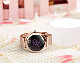 Женский Фитнес-браслет Mavens fit KW10 Plus gold, смарт-часы, фото 7