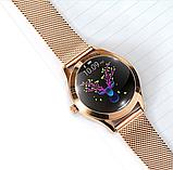Женский Фитнес-браслет Mavens fit KW10 Plus gold, смарт-часы, фото 8