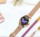 Женский Фитнес-браслет Mavens fit KW10 Plus gold, смарт-часы, фото 9