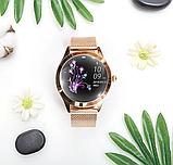 Женский Фитнес-браслет Mavens fit KW10 Plus gold, смарт-часы, фото 10