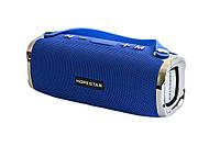 Портативная Bluetooth колонка Hopestar H24 с влагозащитой Blue USB FM FL-402, КОД: 1083831
