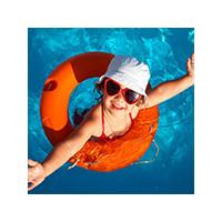 Плавательные средства для детей: надувной круг, фото