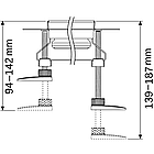 Комплект опор TECE drainline, фото 2