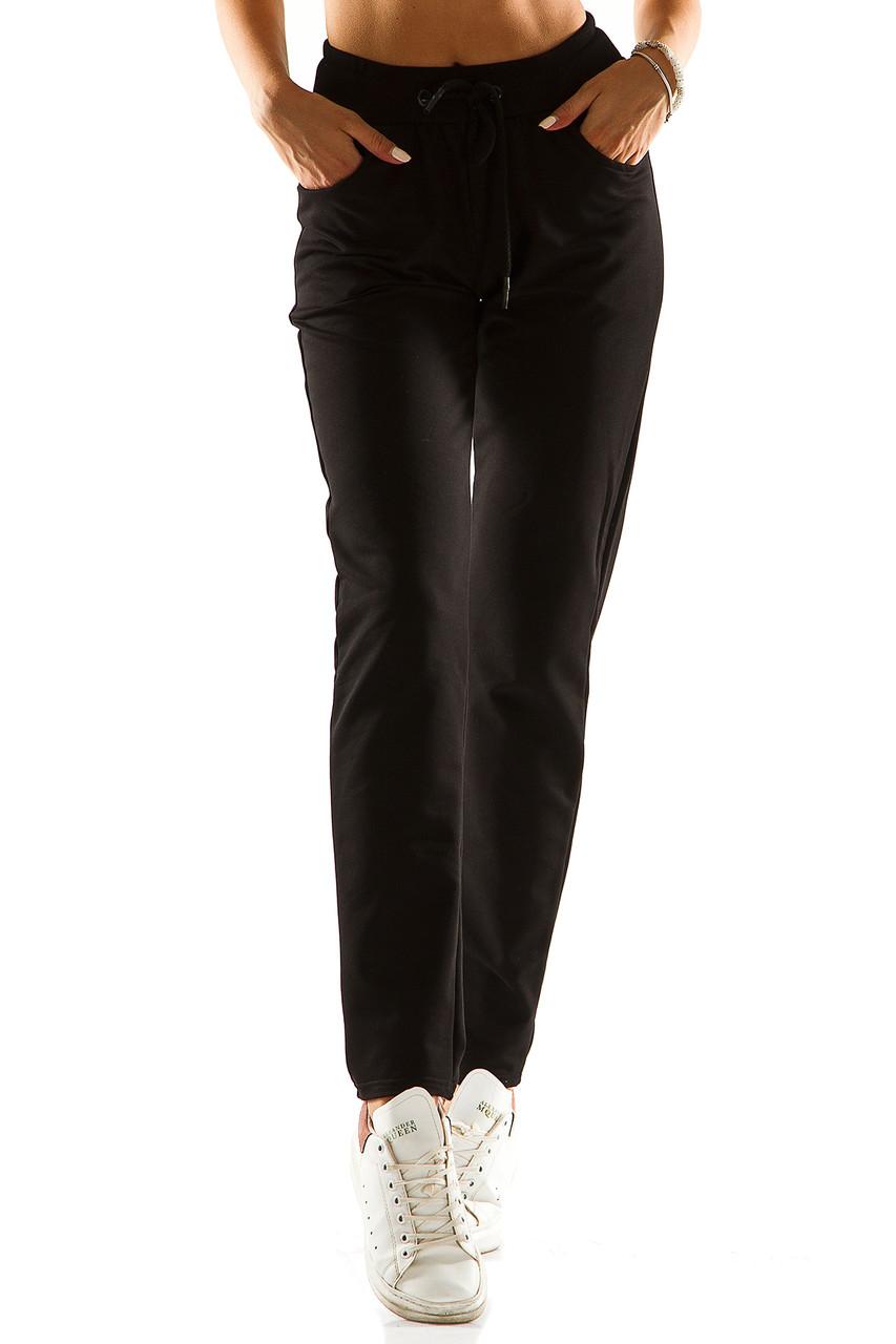 Женские спортивные штаны 714  черные