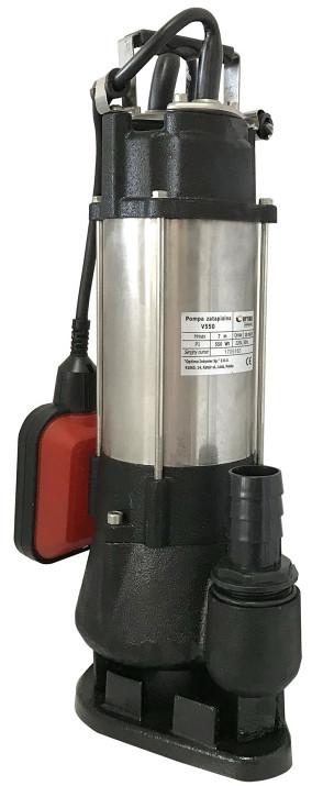 Фекальный электронасос Optima V550