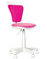 Детское кресло MINISTYLE WHITE Розовое