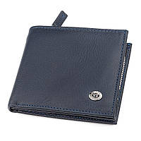 Мужской кошелек ST Leather ST154 кожаный Синий 18342, КОД: 947078