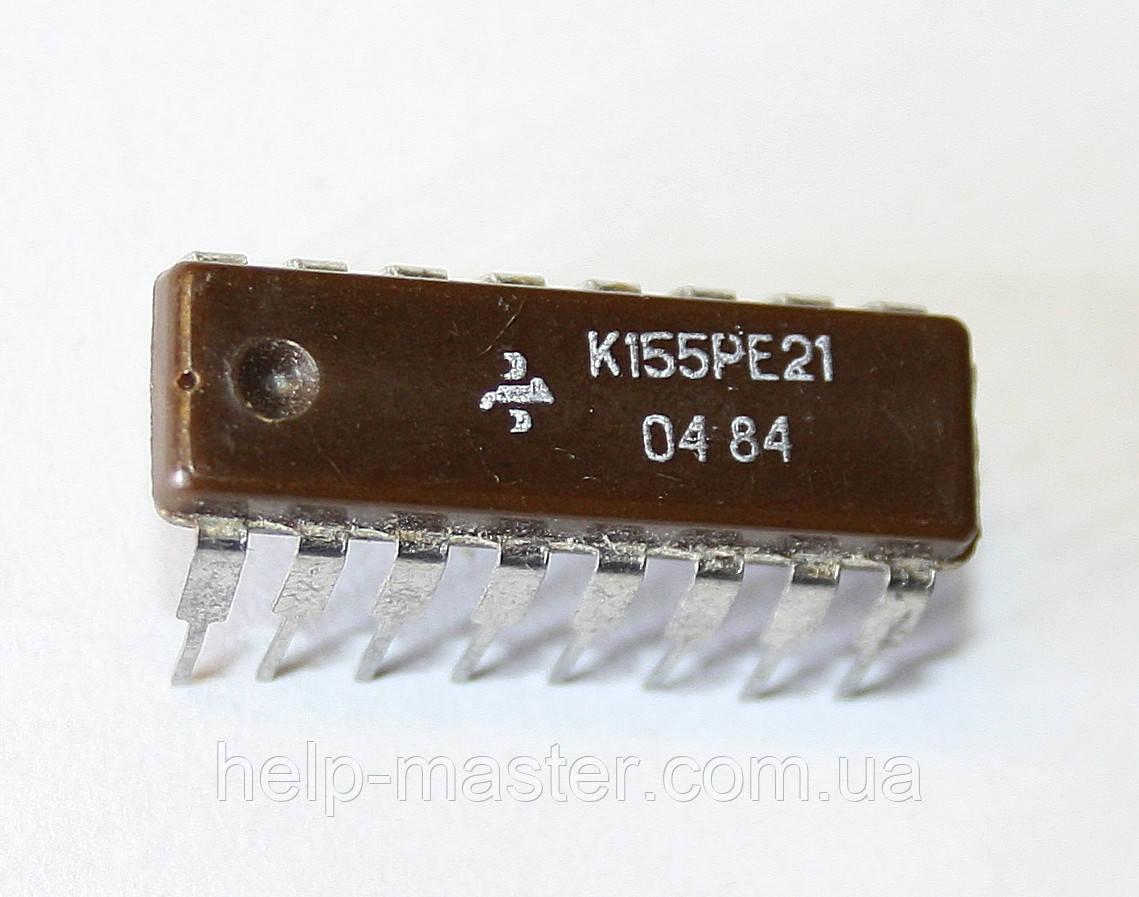 Микросхема К155РЕ21 (DIP-16)