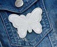 "(3шт) Термоаппликация 6,5х5см нашивка на одежду ""Бабочка"" Цена за 3шт"
