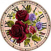"""Алмазная мозаика """"Ход времени"""", картина стразами 20*20см"""