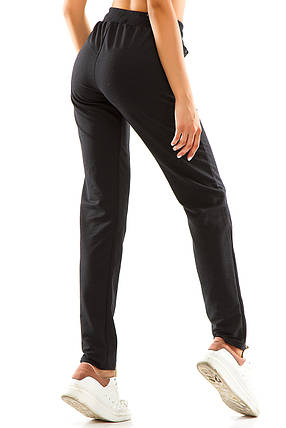 Женские спортивные штаны 714  антрацит, фото 2