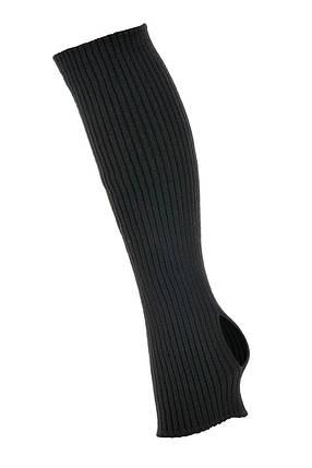 Вязаные гетры для танцев и гимнастики черный, фото 2