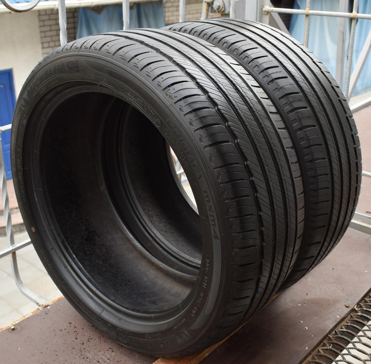 Шины б/у 235/45 R18 Michelin Primacy MXM4, 5-5.5 мм, 2015 г., пара