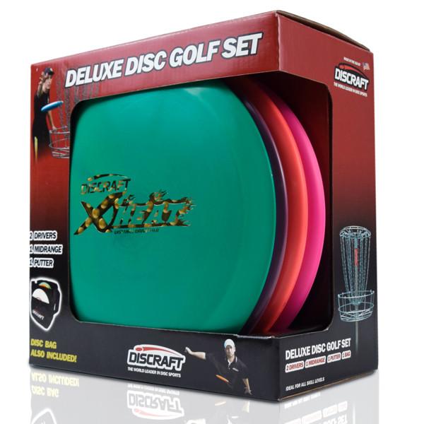 Набір фрісбі Frisbee Discraft Disc Golf Deluxe Set Bag DSS4