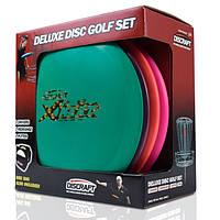 Набір фрісбі Frisbee Discraft Disc Golf Deluxe Set Bag DSS4, фото 1
