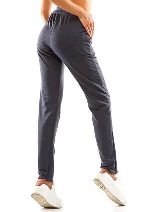 Женские спортивные штаны 714  джинс, фото 2