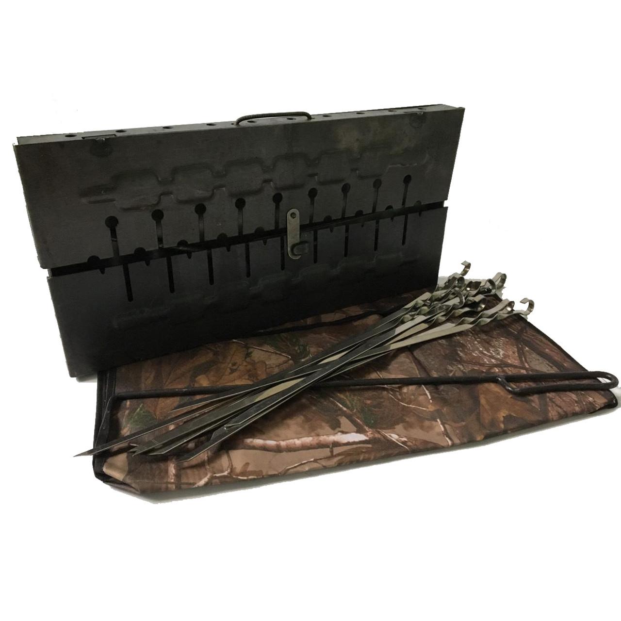 Мангал-чемодан на 10 шампуров MASTAK