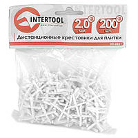 Набор дистанционных крестиков для плитки INTERTOOL HT-0351, фото 1