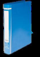 Папка на 2-х кольцах Buromax Jobmax А4 ширина торца 25 мм синяя