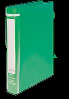 Папка на 2-х кольцах Buromax Jobmax А4 ширина торца 25 мм зелёная