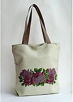 Сумка под вышивку бисером (нитками)  Розы