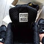 Мужские кроссовки Adidas Iniki Runner 'Core Black' черныелетние весенние. Живое фото (Реплика ААА+), фото 3