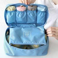 Органайзер для белья Monopoly Travel underwear pouch голубой - R152623