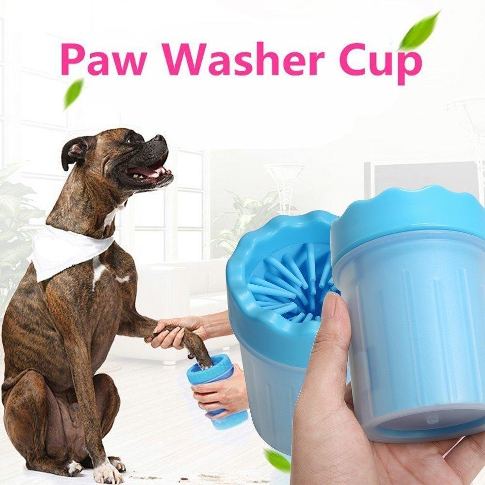 Лапомойка для собак | Стакан для мытья лап Soft pet foot cleaner