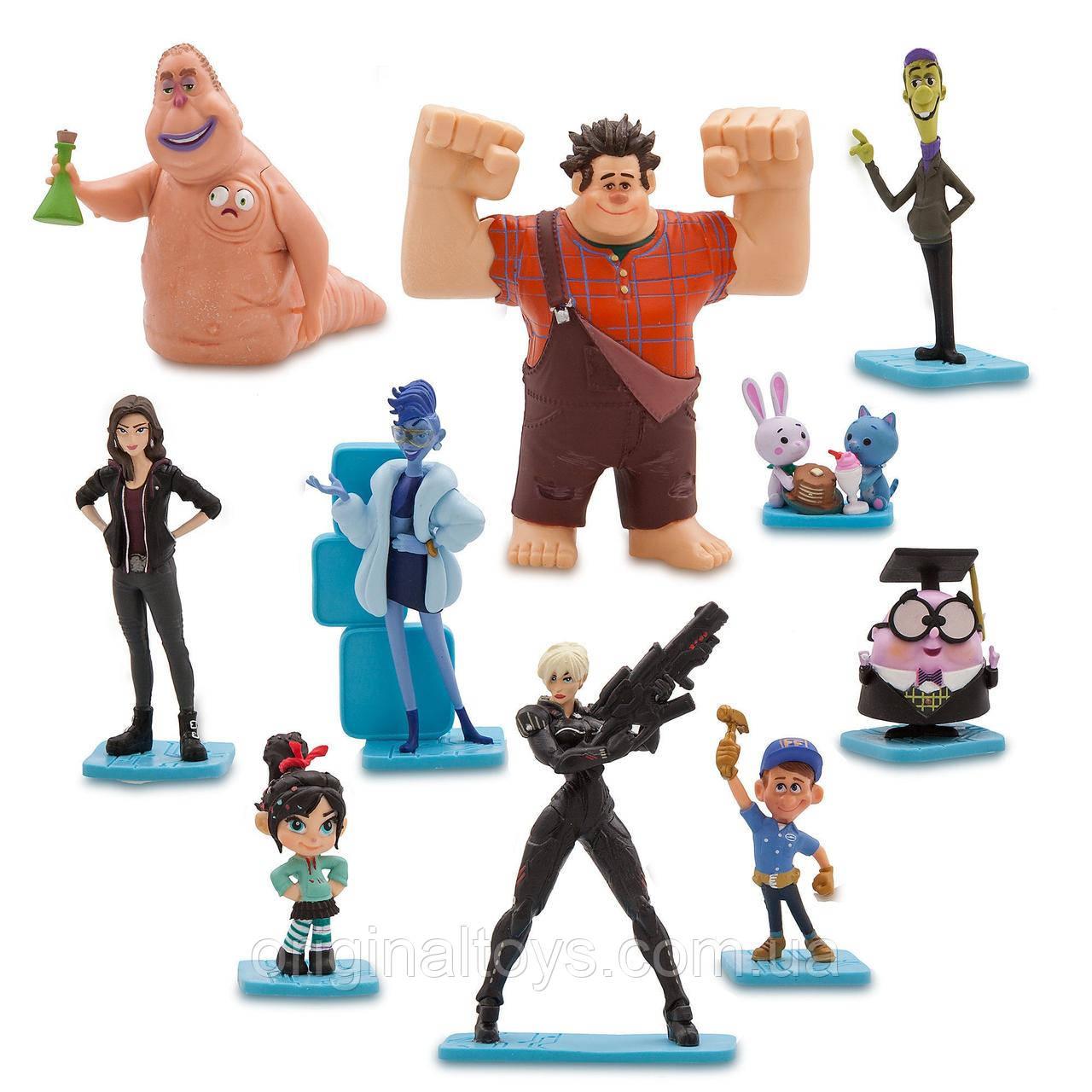 Игровой набор с фигурками Ральф против интернета Disney