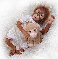 Обезьянка реборн Ляля,кукла реборн обезьянка.Арт.(01389), фото 1