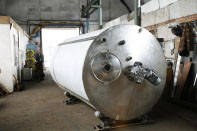 Резервуар для хранения молока, термос, н/ж сталь ОМВ-4