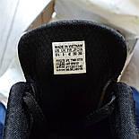 Мужские кроссовки Adidas Iniki Runner черные с белым летние весенние. Живое фото (Реплика ААА+), фото 4