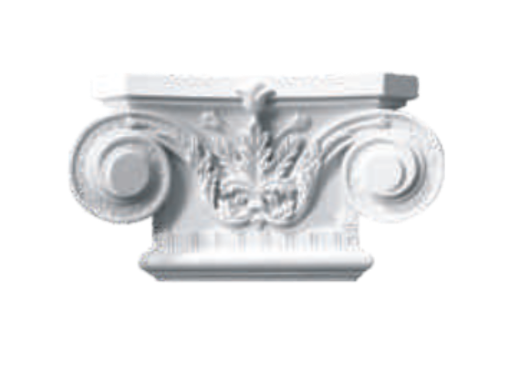 Капитель  Classic Home P089-K2, лепной декор из полиуретана.