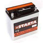 Мото аккумулятор Starta 3мтс 18 С