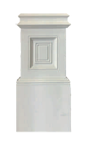 База  Classic Home P089-B, лепной декор из полиуретана.