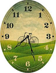 Часы овальные настенные VELO 46*60 d466016