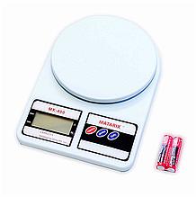 Весы для кухни | Кухонные электронные весы Matrix MX-400 10 кг